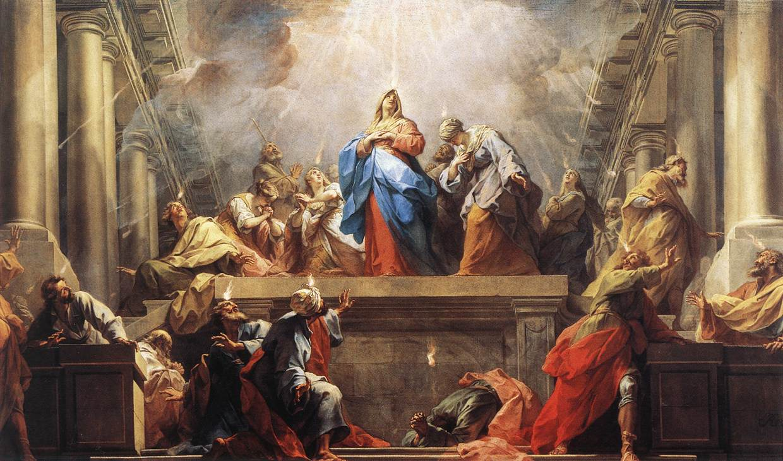 Evangelio Domingo Pentecostés, Solemnidad (8-6-2014)
