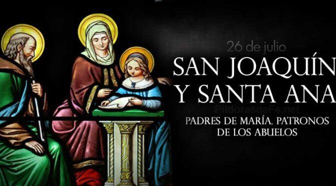 Domingo de la decimoséptima semana de Tiempo Ordinario. Santos Joaquín y Ana, padres de la bienaventurada Virgen María.